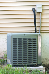 central air conditioner leaking water